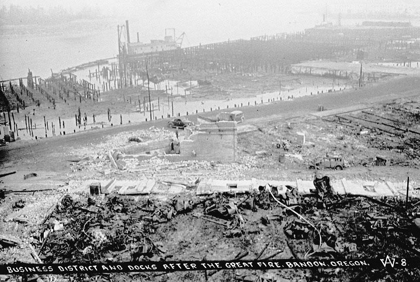 bandon fire  1936