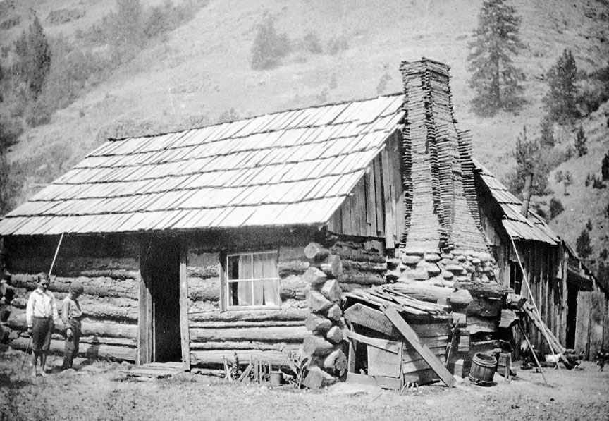 Log Cabin Near Bingham Springs