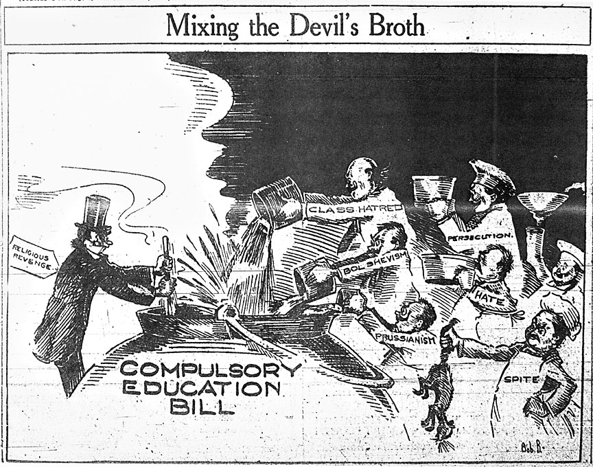 """Mixing the Devil's Broth"": The KKK and the Compulsory Education Act of 1922"