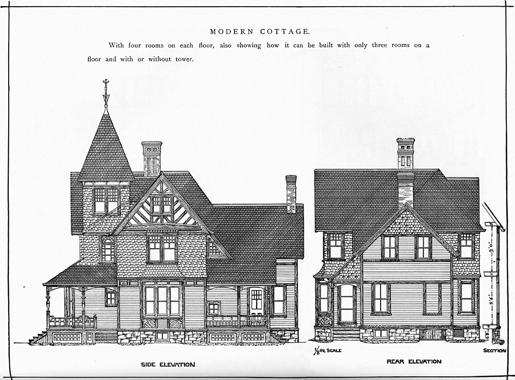 Cottage From Pallisers American Architecture
