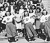 Chemawa Indian School Cheerleaders // CN 007202