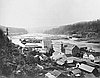 Oregon City and Willamette Falls // OrHi 2591