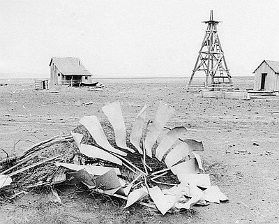 Abandoned Ranch, Christmas Valley, 1963