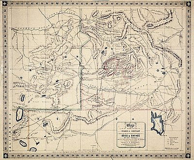 Mining Sections Of Idaho And Oregon 1864