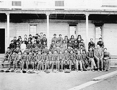 Warm Springs Agency School, 1890